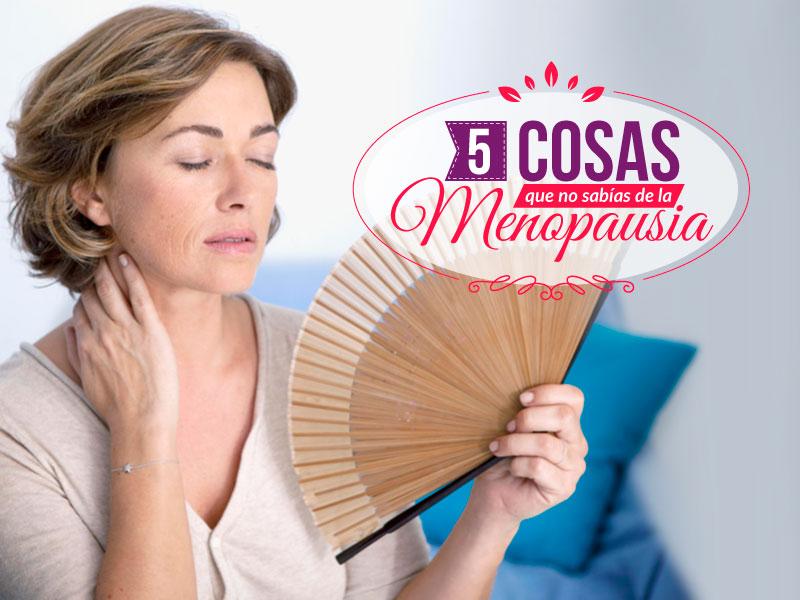 5 cosas que nadie te ha dicho sobre la menopausia