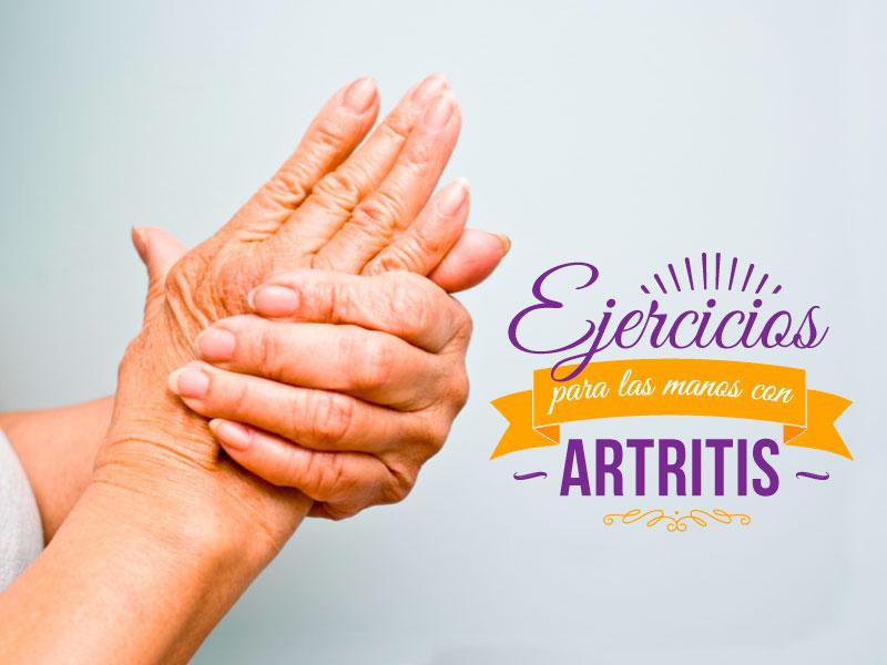 Ejercicios para las manos con artritis