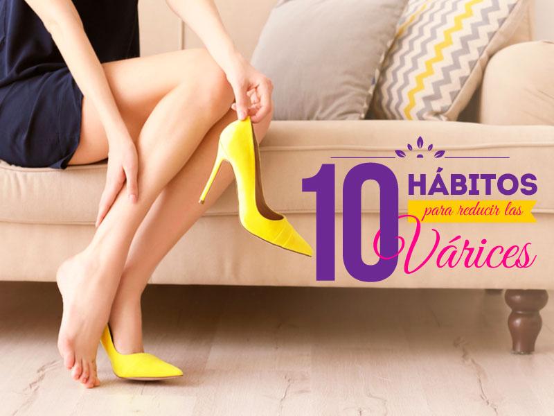 10 hábitos para reducir las várices