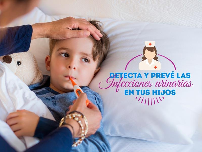 Detecta y prevé las infecciones urinarias en tus hijos