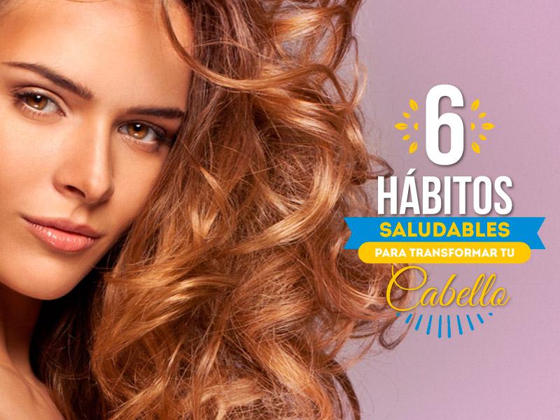 6 hábitos saludables para transformar tu cabello