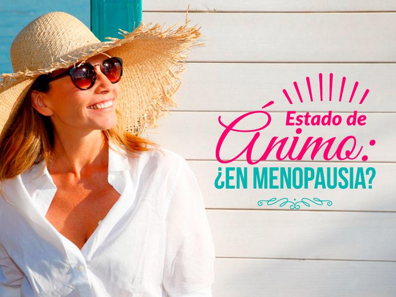 Estado de ánimo: ¿en menopausia?