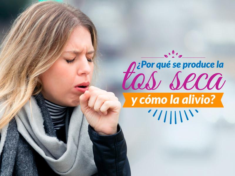 ¿Por qué se produce la tos seca y cómo la alivio?