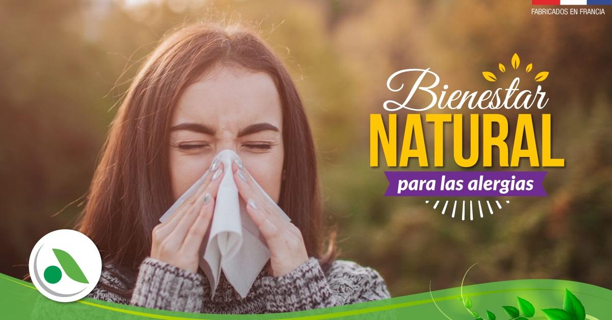 Bienestar natural para tus alergias