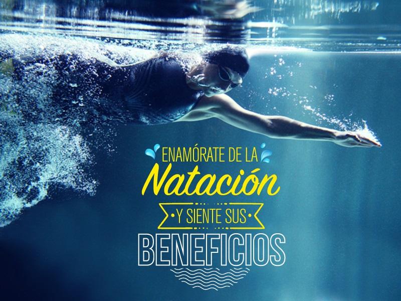 Enamórate de la natación y siente sus beneficios