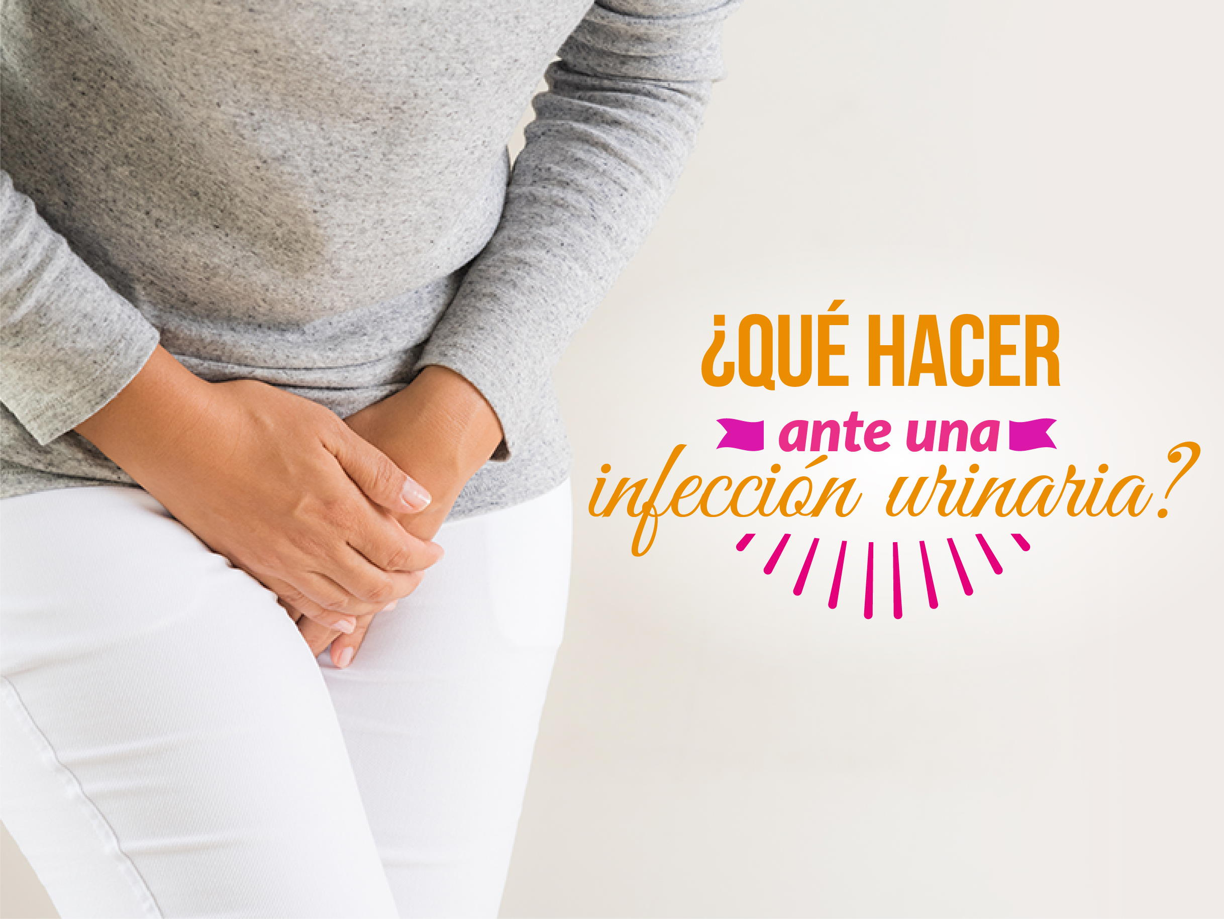 ¿Qué hacer ante una infección urinaria?