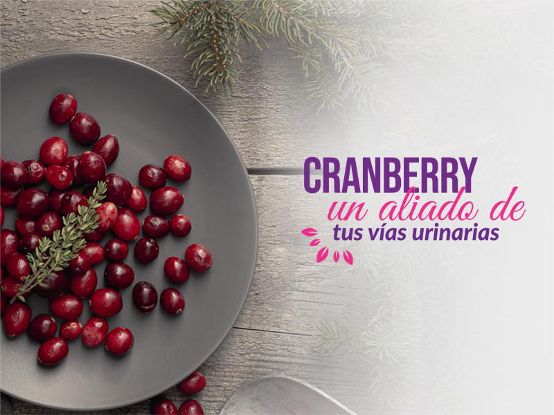 ¡Chao infecciones urinarias! Hola Cranberry Americano