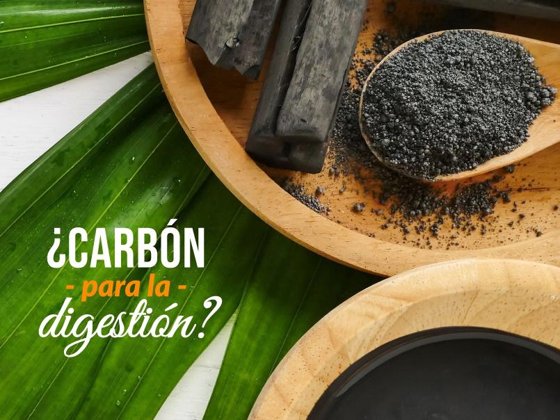 Carbón activado y sus beneficios para la digestión