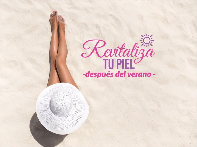 Revitaliza tu piel después del verano